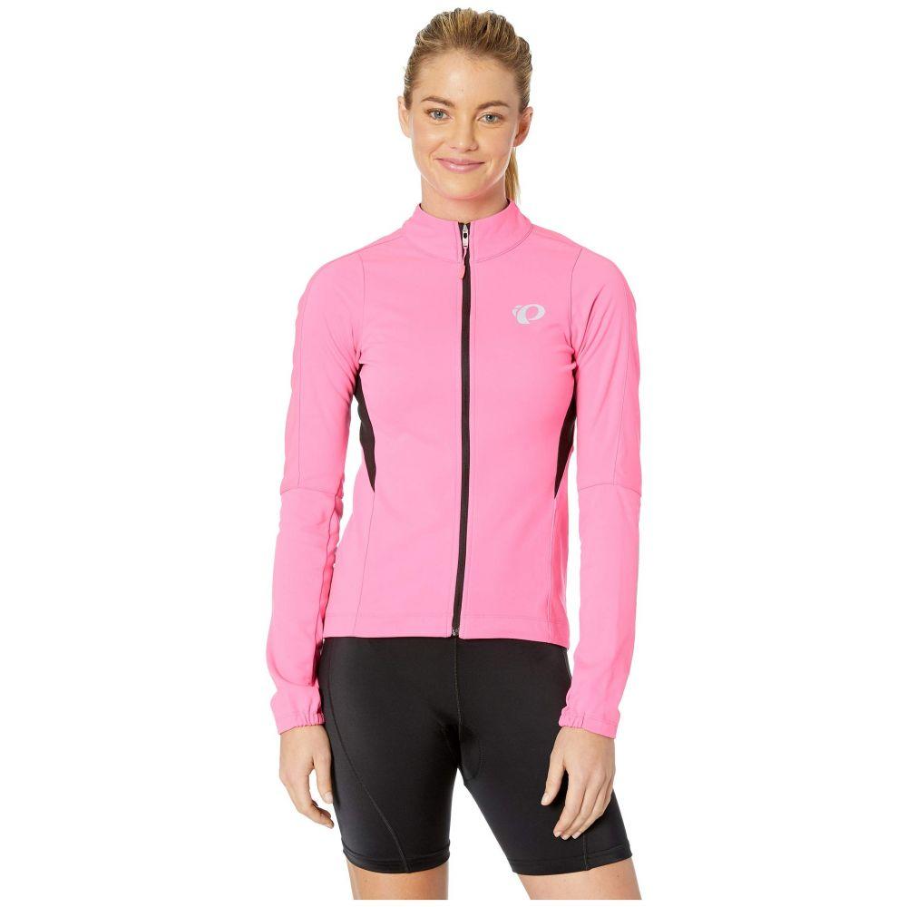 パールイズミ Pearl Izumi レディース 自転車 アウター【Elite Pursuit Amfib Jacket】Screaming Pink/Black