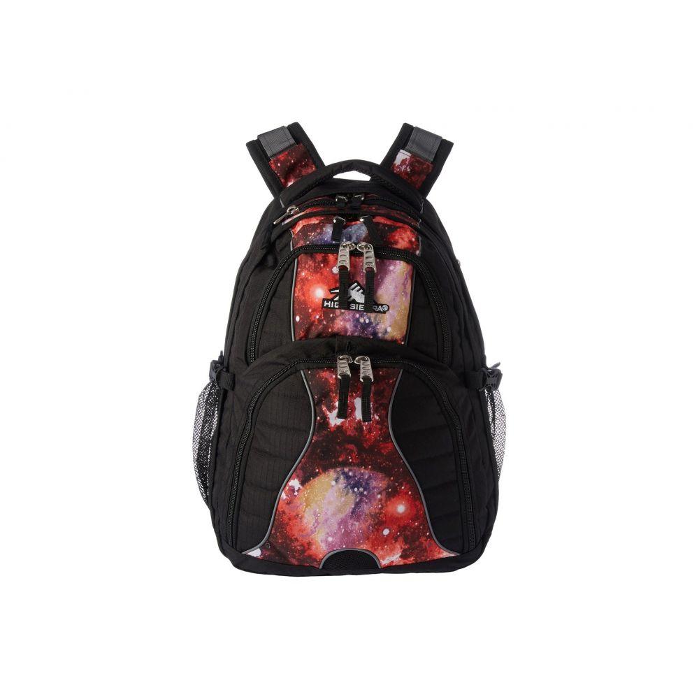 ハイシエラ High Sierra レディース バッグ バックパック・リュック【Swerve Backpack】Black/Space Age