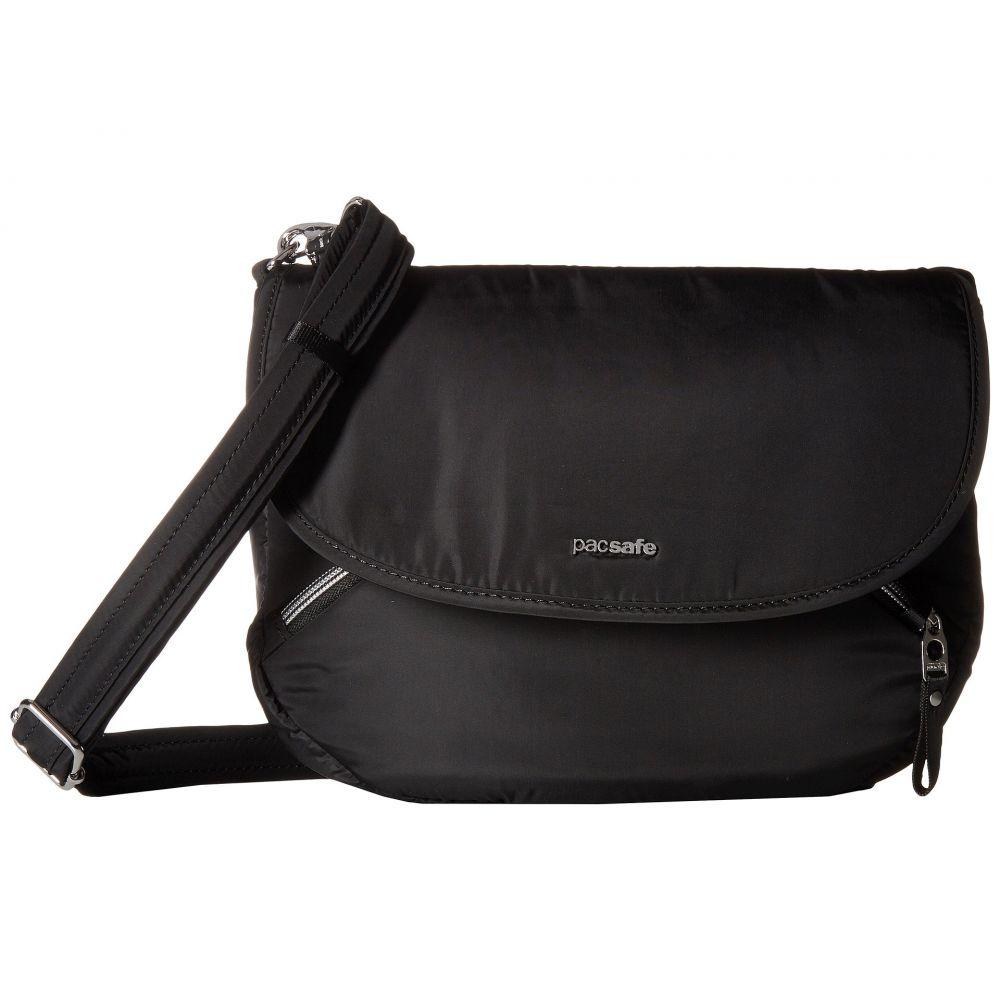 パックセイフ Pacsafe レディース バッグ ショルダーバッグ【Stylesafe Anti-Theft Crossbody Bag】Black