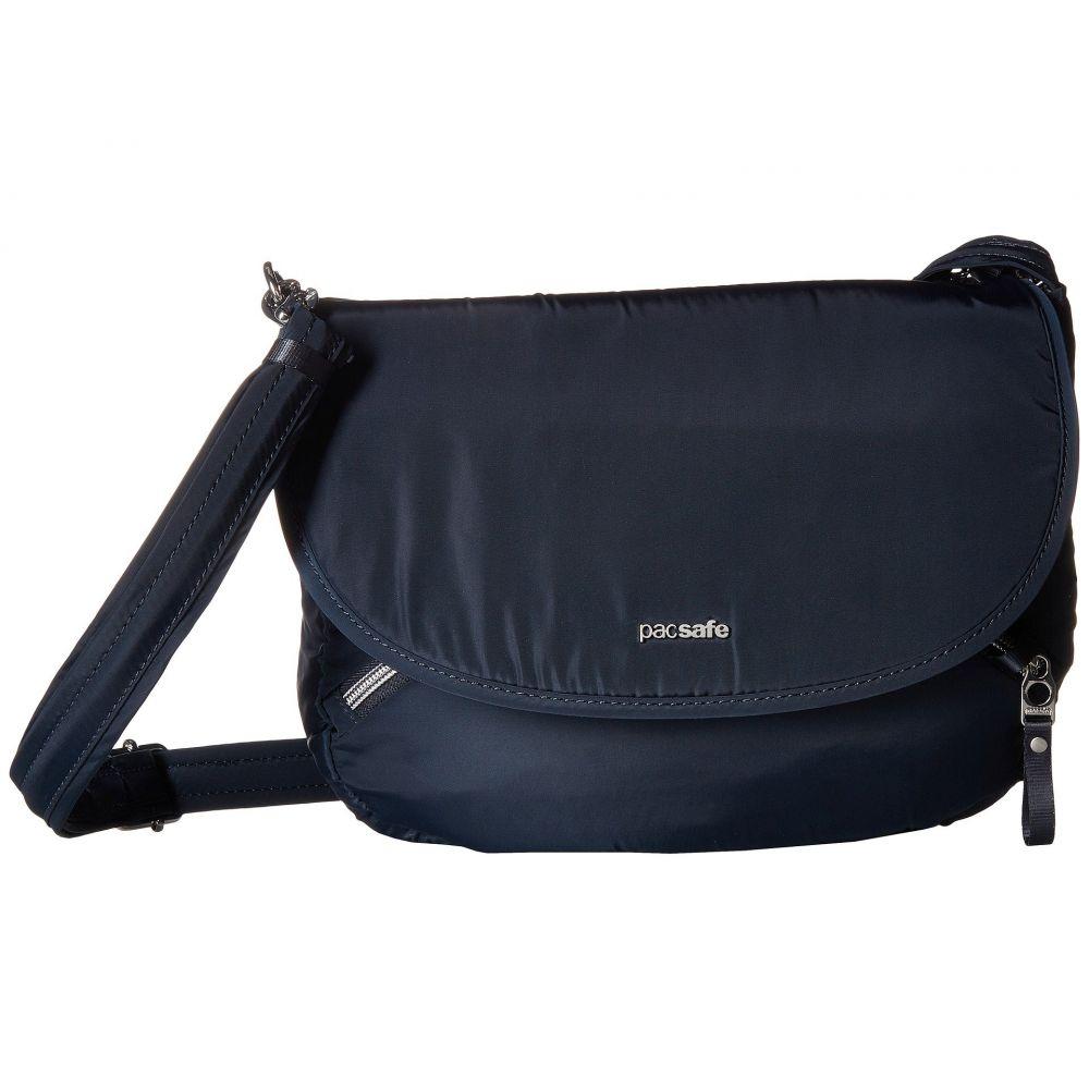 パックセイフ Pacsafe レディース バッグ ショルダーバッグ【Stylesafe Anti-Theft Crossbody Bag】Navy