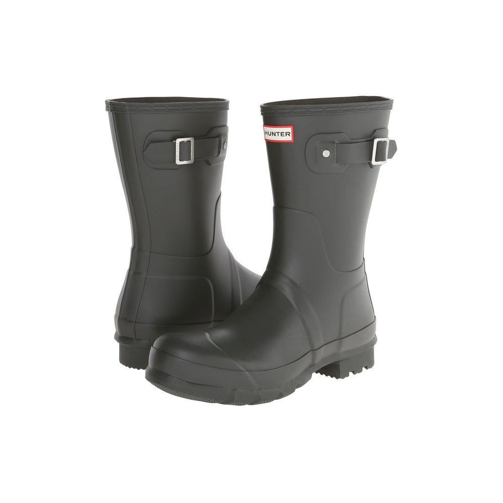 ハンター Hunter メンズ シューズ・靴 レインシューズ・長靴【Original Short Rain Boots】Dark Olive