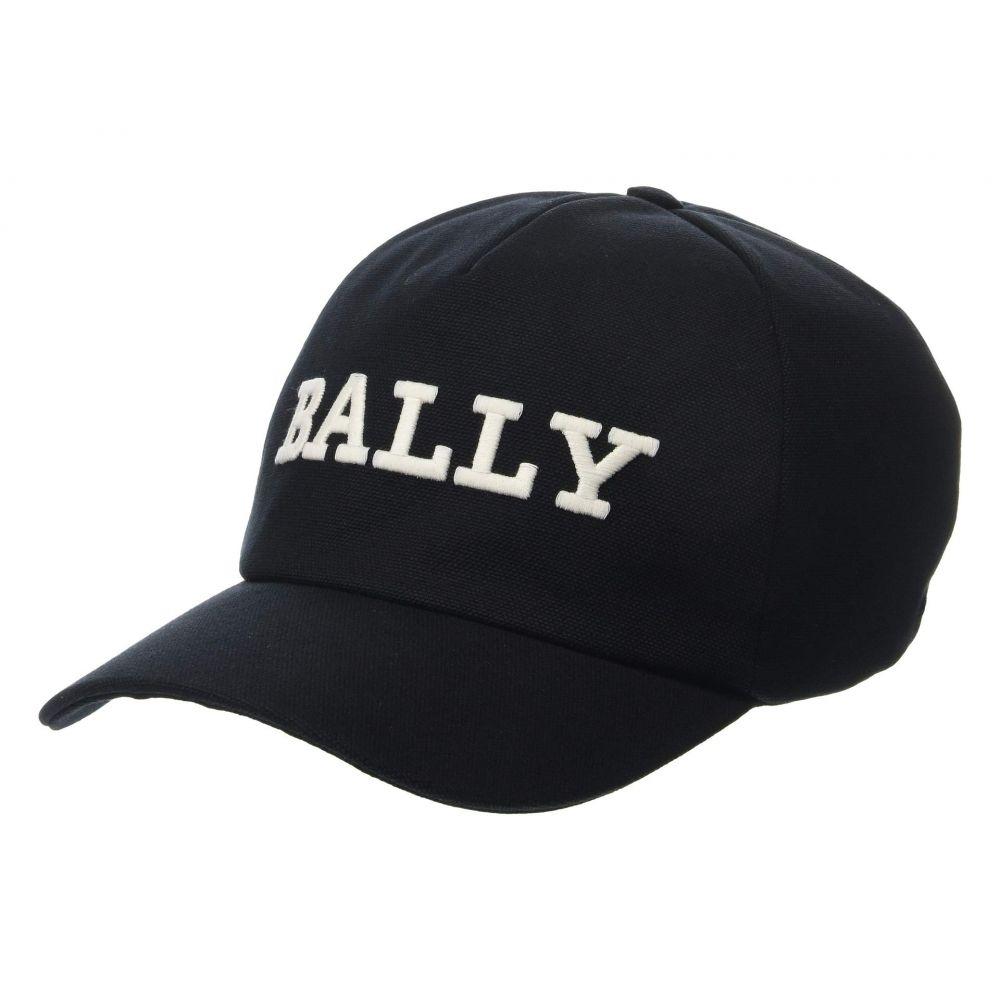 キャップ【Logo Baseball メンズ 帽子 Bally バリー Cap】Black