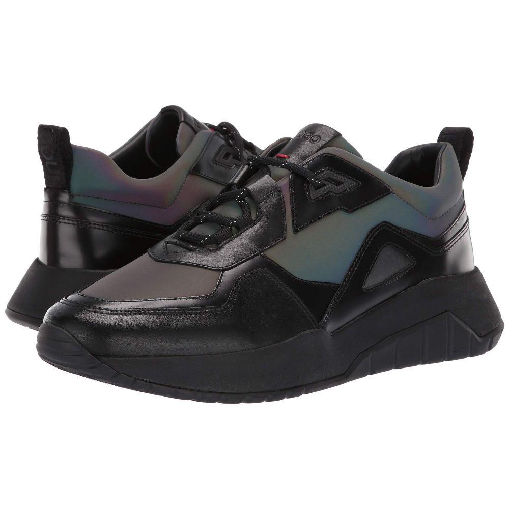 ヒューゴ ボス BOSS Hugo Boss メンズ シューズ・靴 スニーカー【Atom Run Metallic Sneaker By HUGO】Black