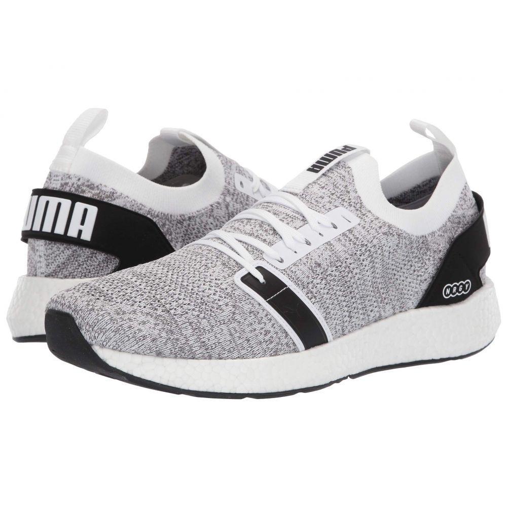 プーマ PUMA メンズ テニス シューズ・靴【NRGY NEKO Engineer Knit】Puma White/Puma Black