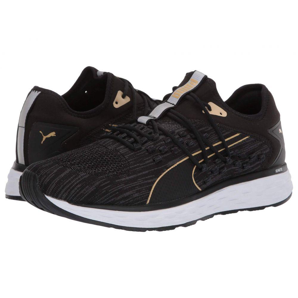 プーマ PUMA メンズ ランニング・ウォーキング シューズ・靴【Speed 600 Fusefit】Puma Black/Puma White/Taos Taupe