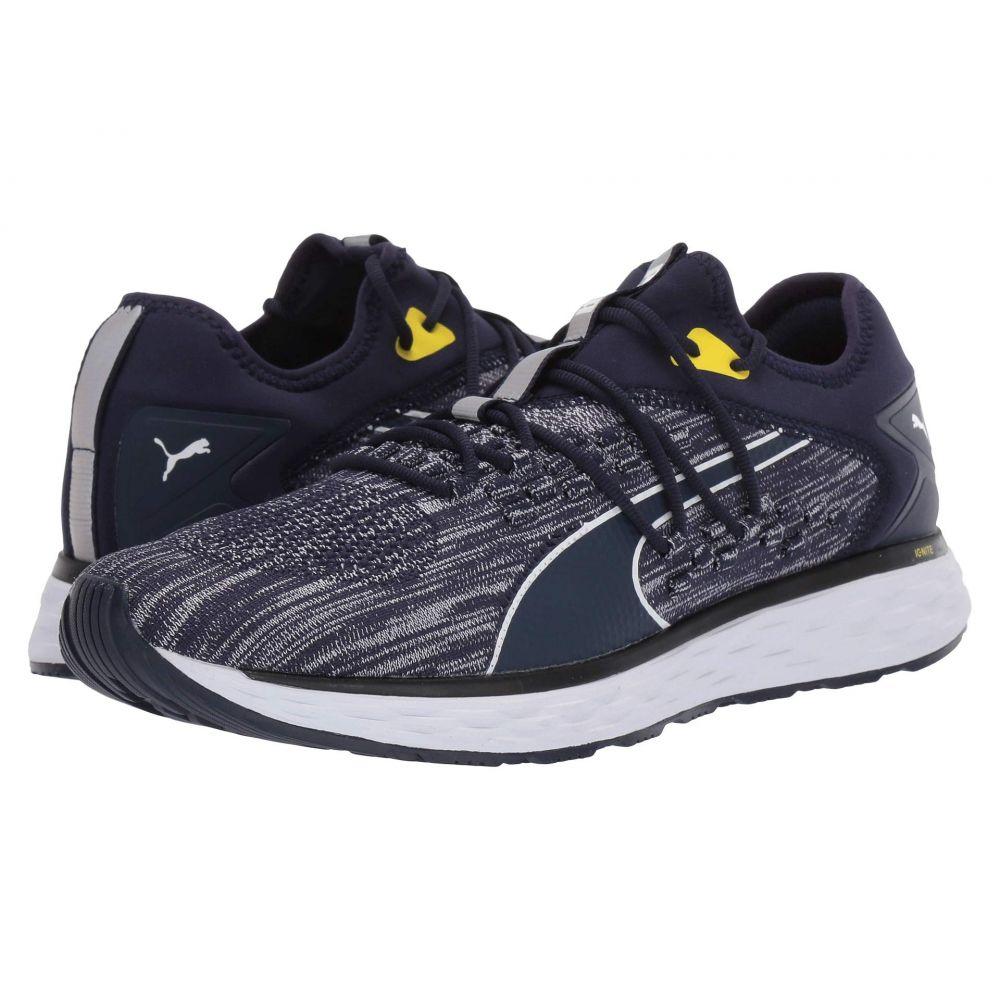 プーマ PUMA メンズ ランニング・ウォーキング シューズ・靴【Speed 600 Fusefit】Peacoat/Puma White/Blazing Yellow