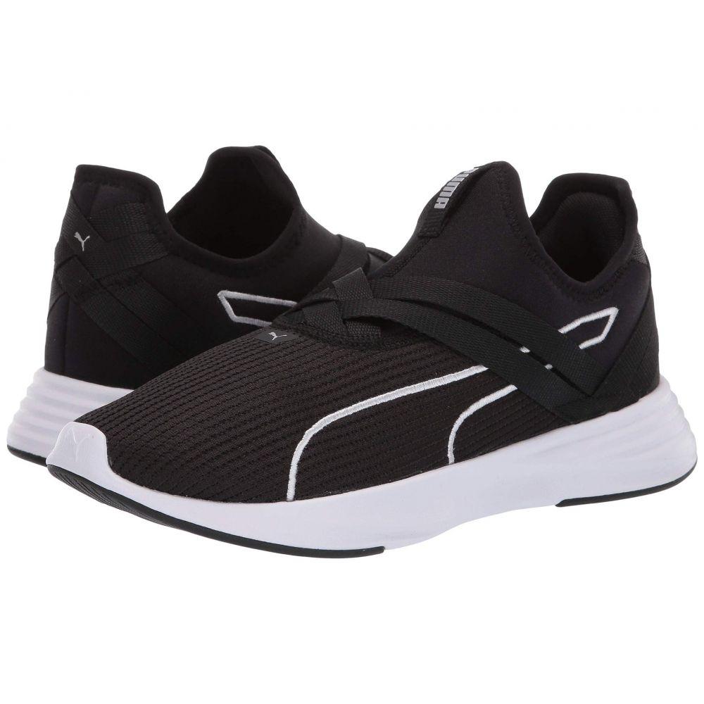 プーマ PUMA レディース ランニング・ウォーキング シューズ・靴【Radiate XT Slip-On】Puma Black/Puma Silver
