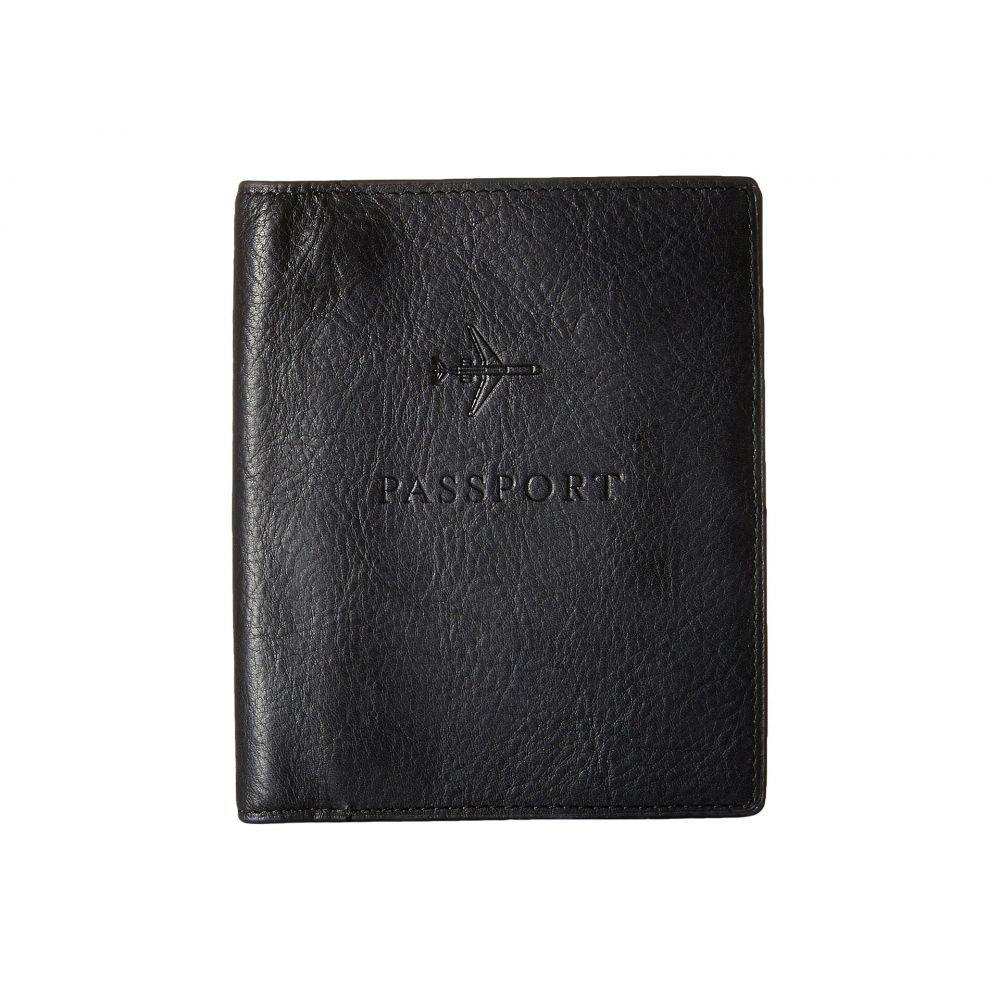 フォッシル Fossil メンズ パスポートケース【Passport Case】Black