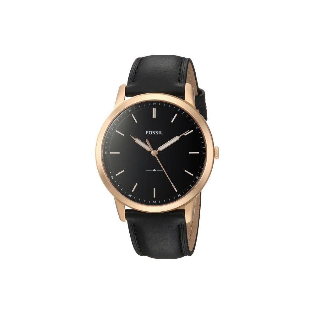 フォッシル Fossil メンズ 腕時計【The Minimalist - FS5376】Black
