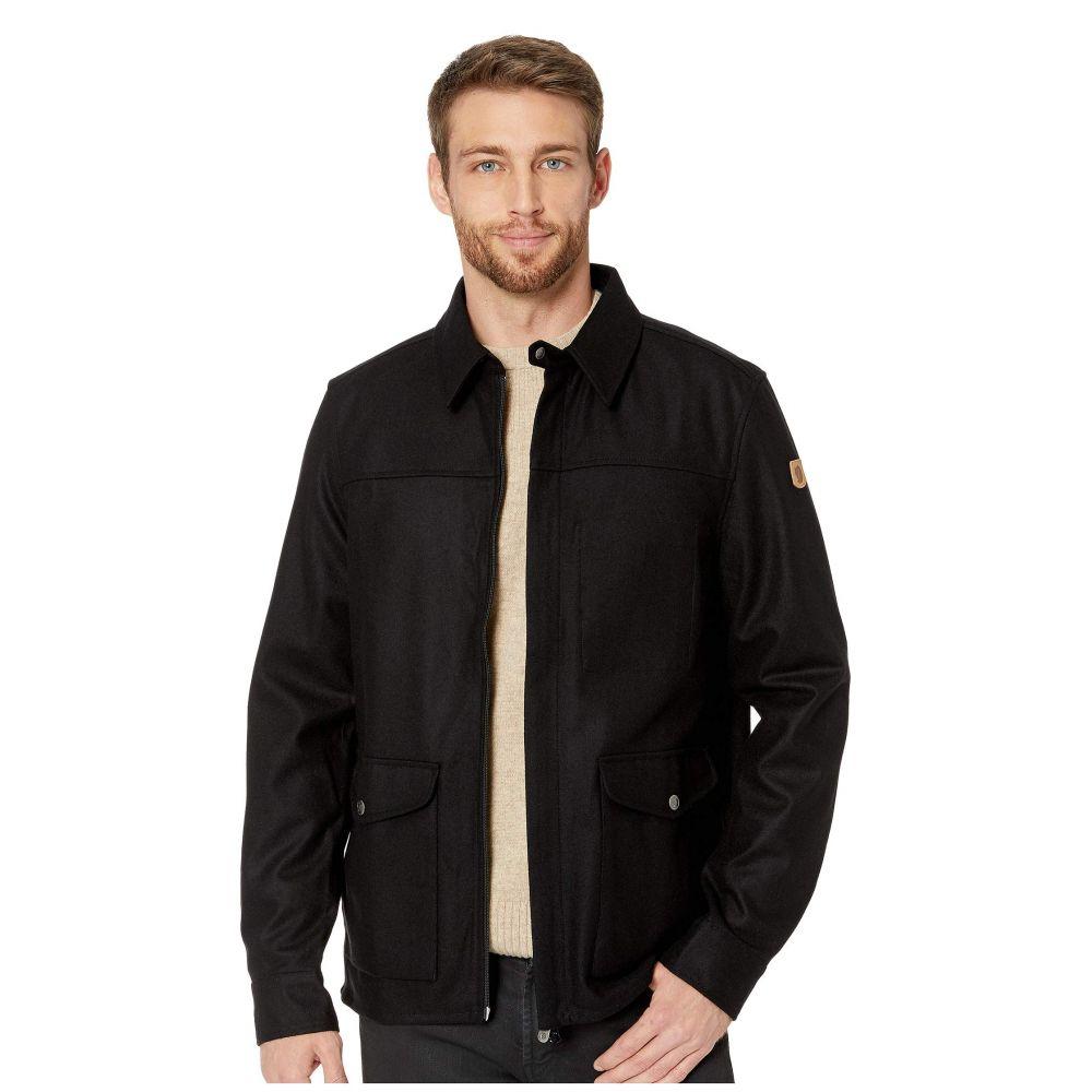 フェールラーベン Fjallraven メンズ アウター ジャケット【Greenland Re-wool Shirt Jacket】Black