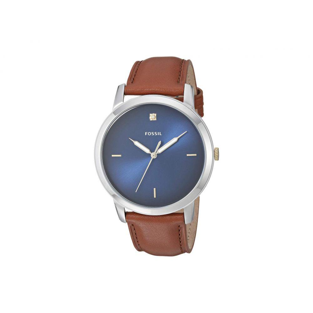 フォッシル Fossil メンズ 腕時計【The Minimalist 3H - FS5499】Brown