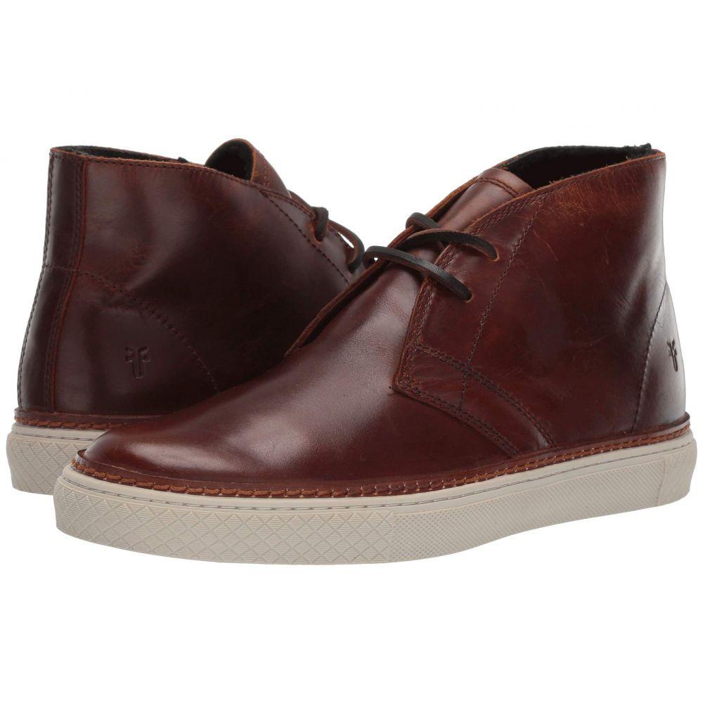 フライ Frye メンズ シューズ・靴 ブーツ【Essex Chukka】Cognac WP Smooth Pull-Up/Shearling