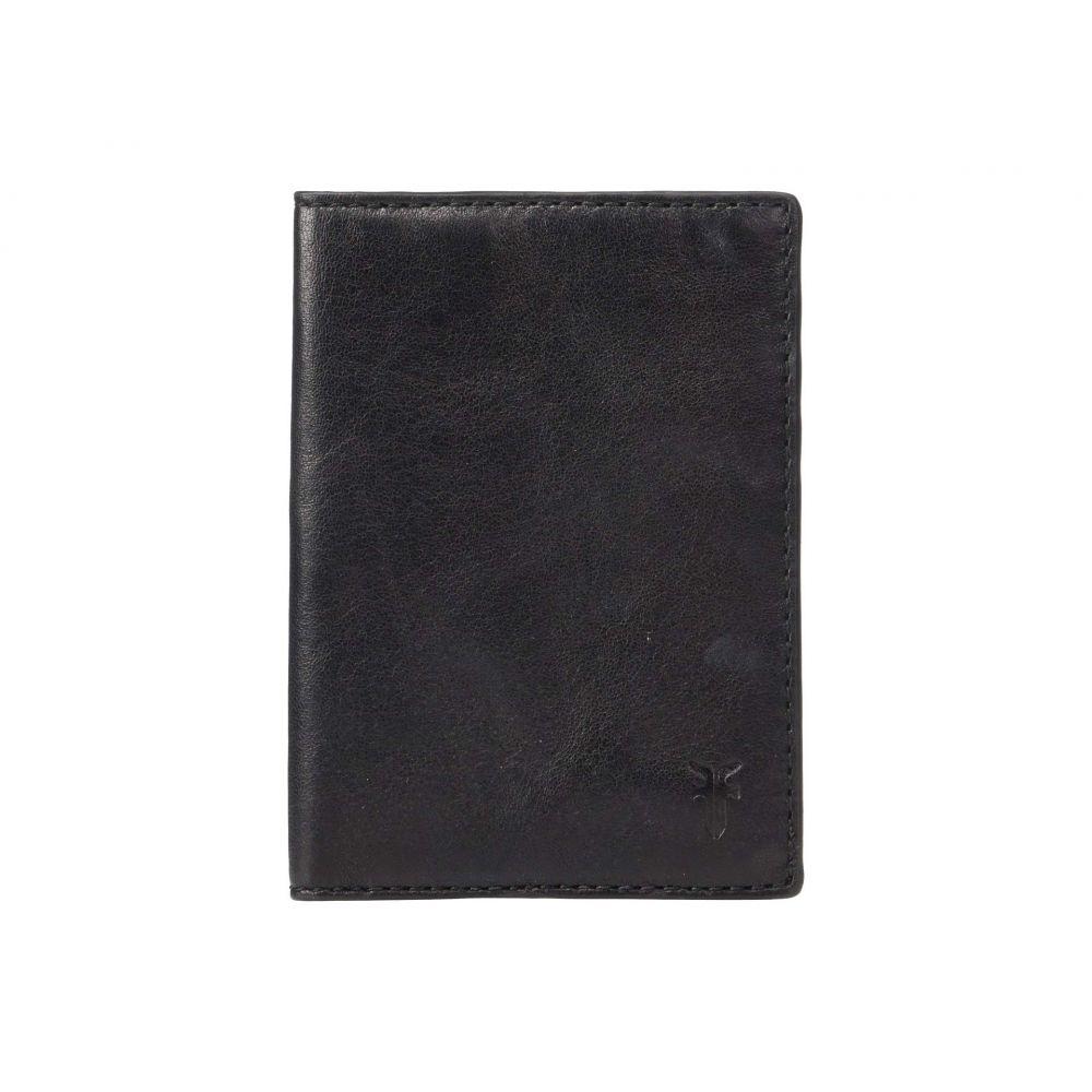 フライ Frye レディース パスポートケース【Passport Case】Black Veg Tan Sheep