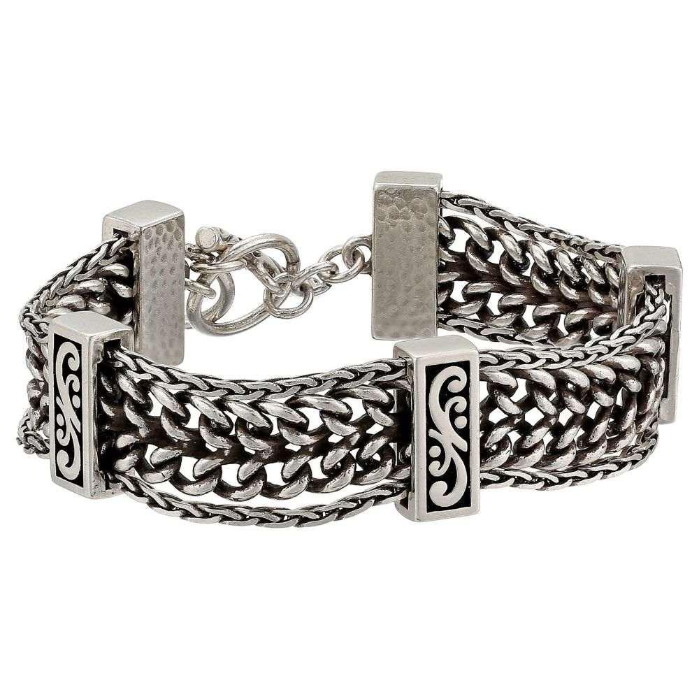 ブライトン Brighton レディース ジュエリー・アクセサリー ブレスレット【Deco Luxe Chain Bracelet】Silver