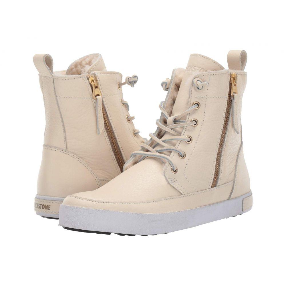 ブラックストーン Blackstone レディース シューズ・靴 ブーツ【High-Top Zip Boot】White