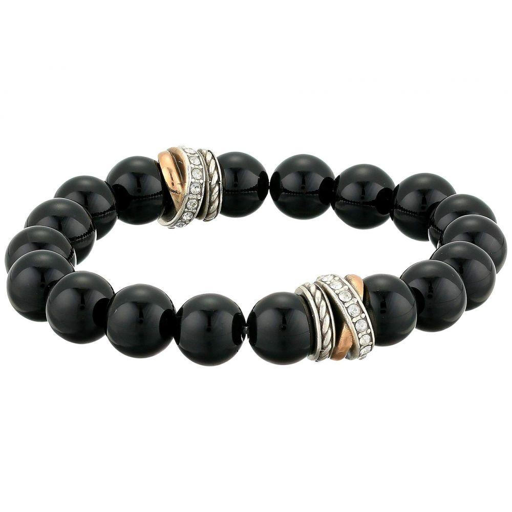 ブライトン Brighton レディース ジュエリー・アクセサリー ブレスレット【Neptune's Rings Stretch Bracelet】Black