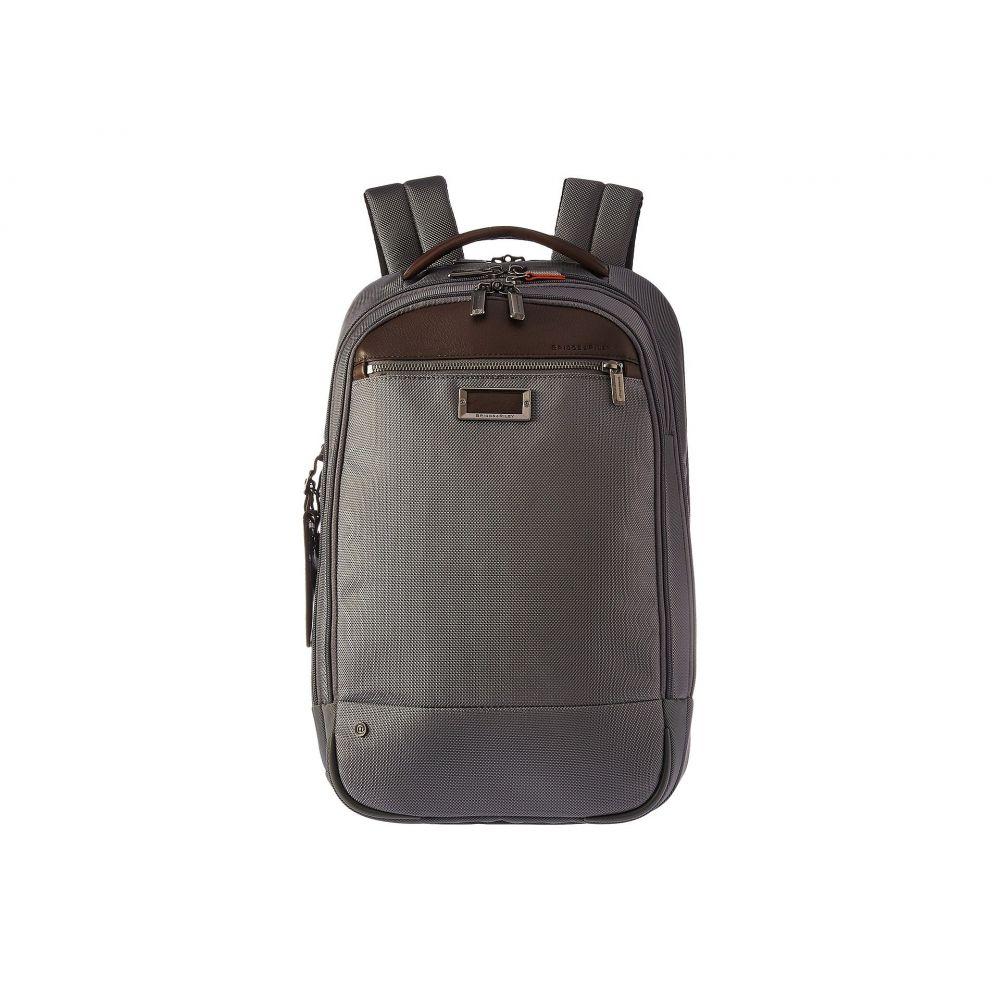 ブリッグスアンドライリー Briggs & Riley レディース バッグ バックパック・リュック【work Medium Backpack】Grey