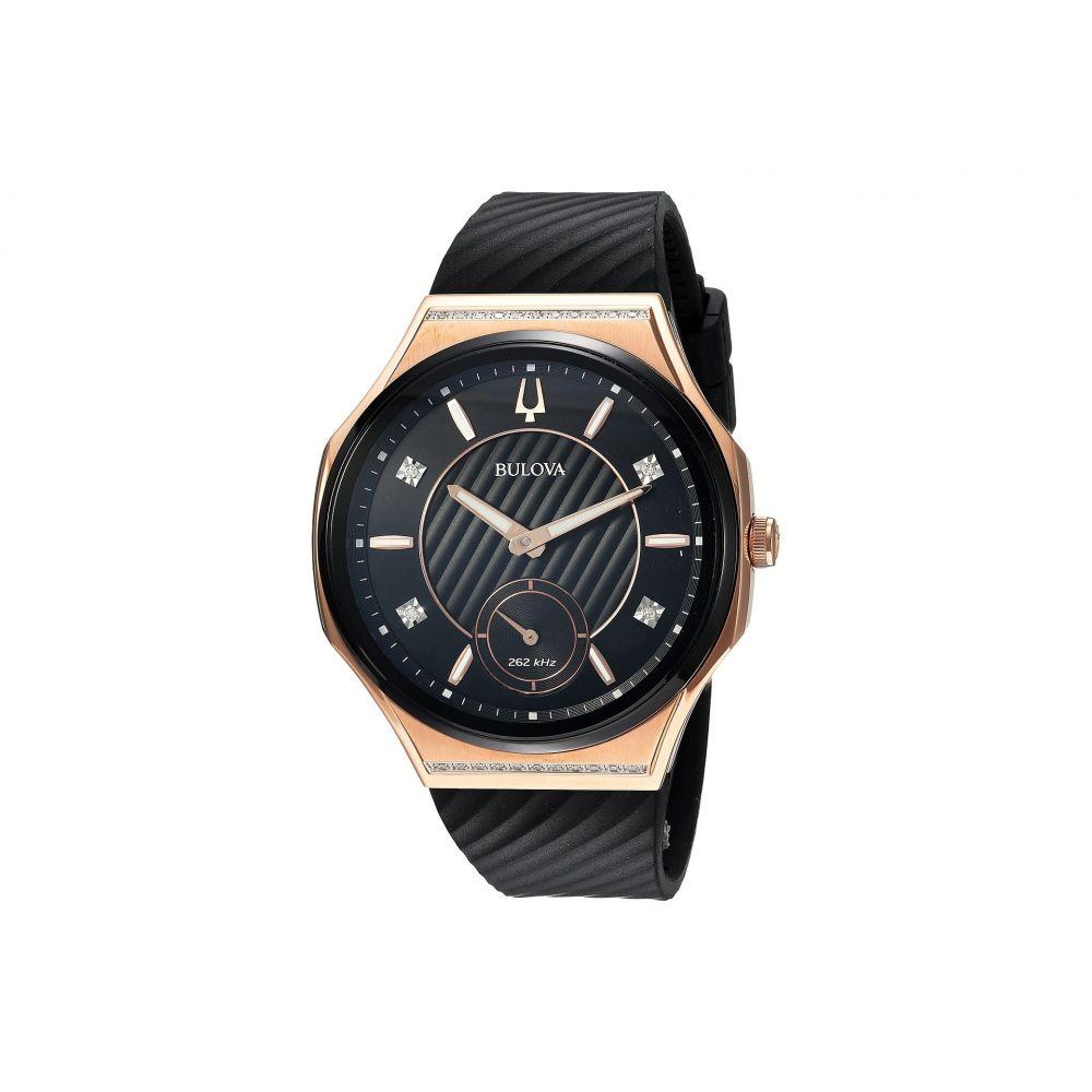 ブローバ Bulova レディース 腕時計【Curv - 98R239】Black