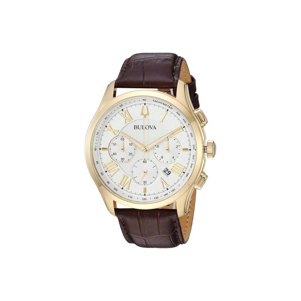 ブローバ Bulova メンズ 腕時計【Wilton - 97B169】Brown