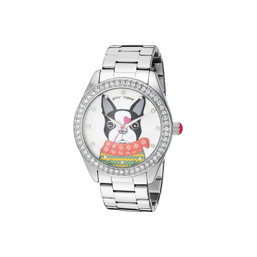 ベッツィ ジョンソン Betsey Johnson レディース 腕時計【BJ00048-280 - French Bulldog Motif Dial Watch】Multi
