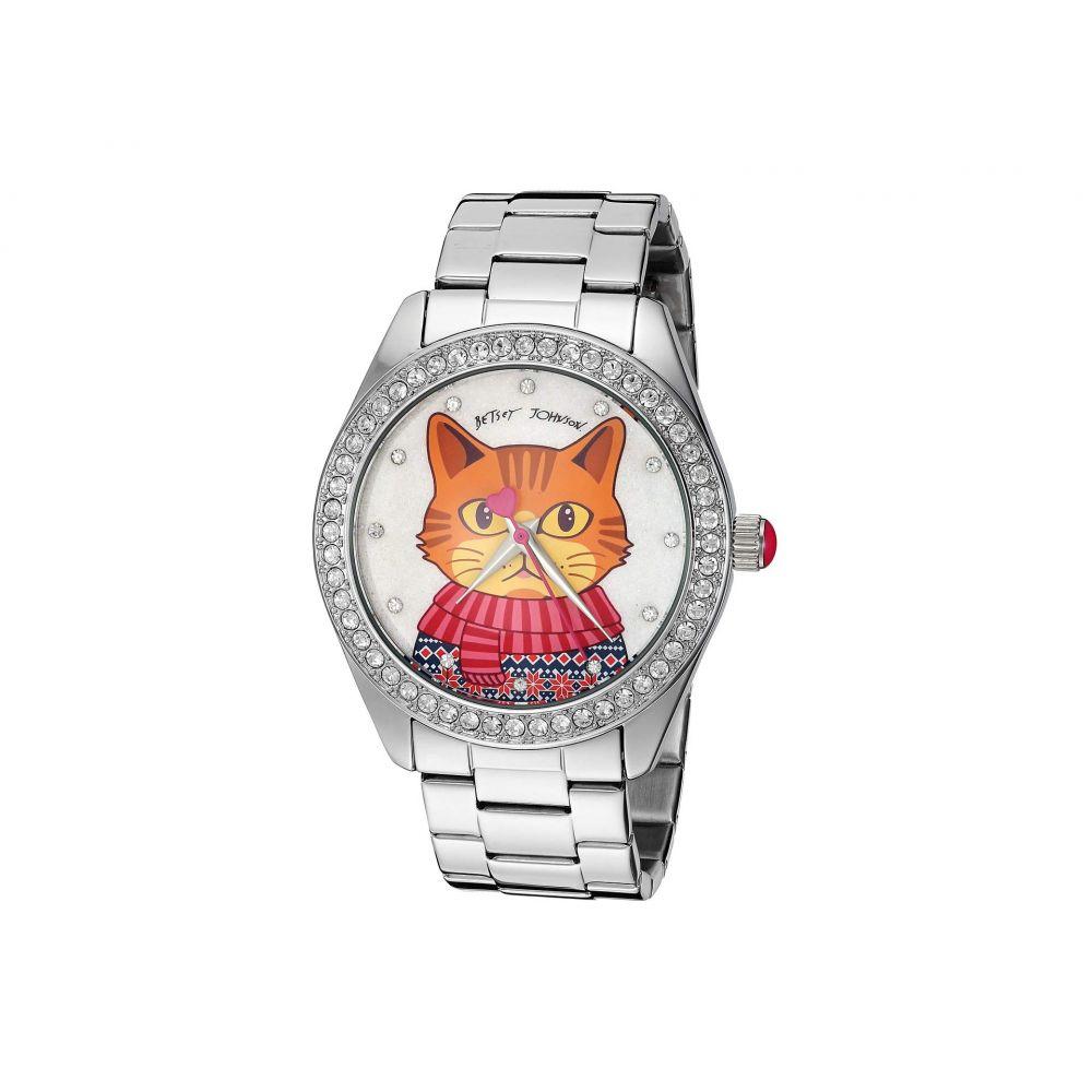 ベッツィ ジョンソン Betsey Johnson レディース 腕時計【BJ00048-281 - Cat Motif Dial Watch】Multi