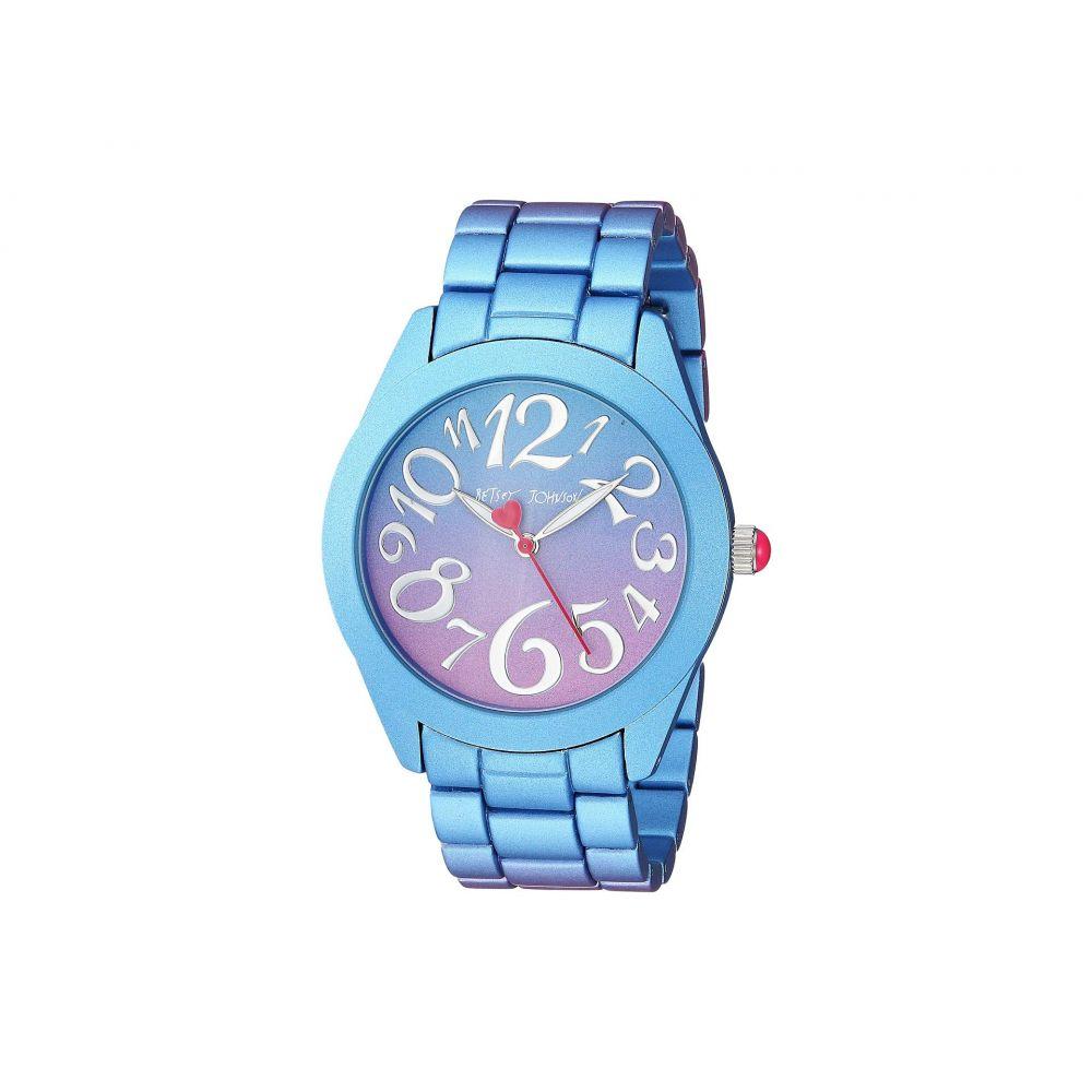 ベッツィ ジョンソン Betsey Johnson レディース 腕時計【BJ00706-01 - Purple & Blue Stainless Steel Case Watch】Purple/Blue