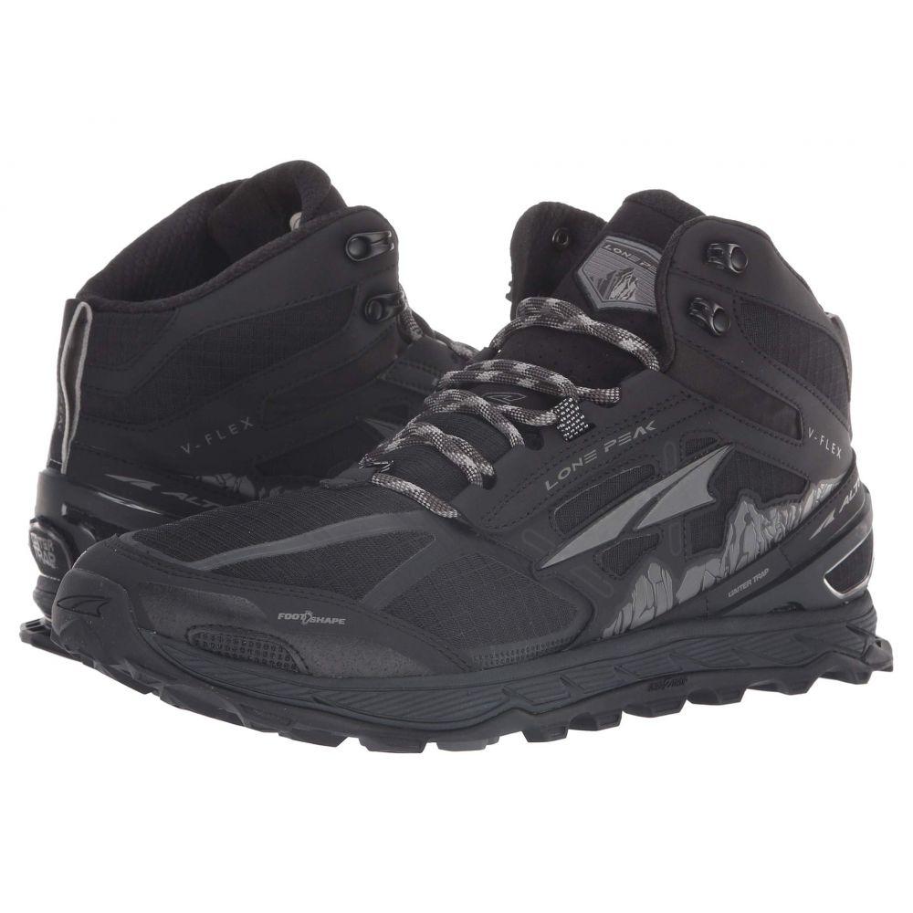 アルトラ Altra Footwear メンズ ランニング・ウォーキング シューズ・靴【Lone Peak 4 Mid Mesh】Black