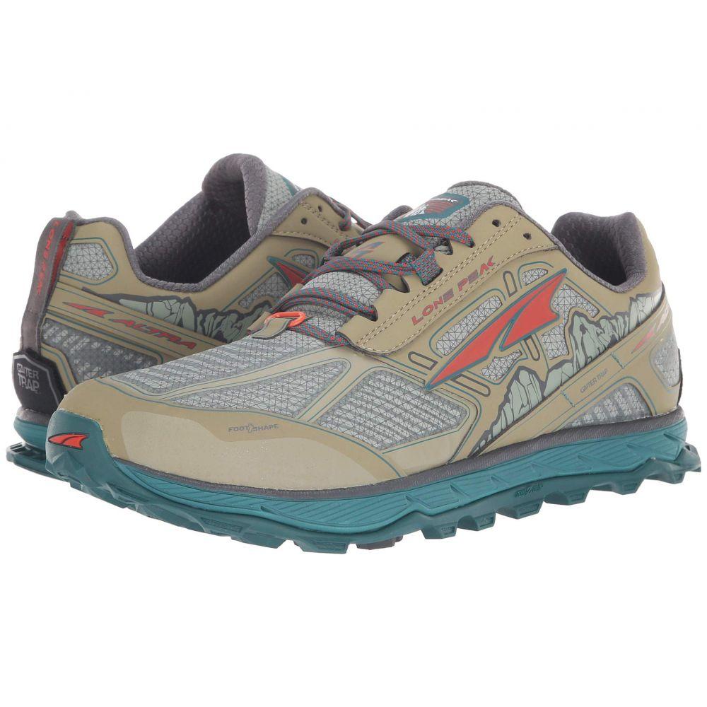 アルトラ Altra Footwear メンズ ランニング・ウォーキング シューズ・靴【Lone Peak 4 Low RSM】Green