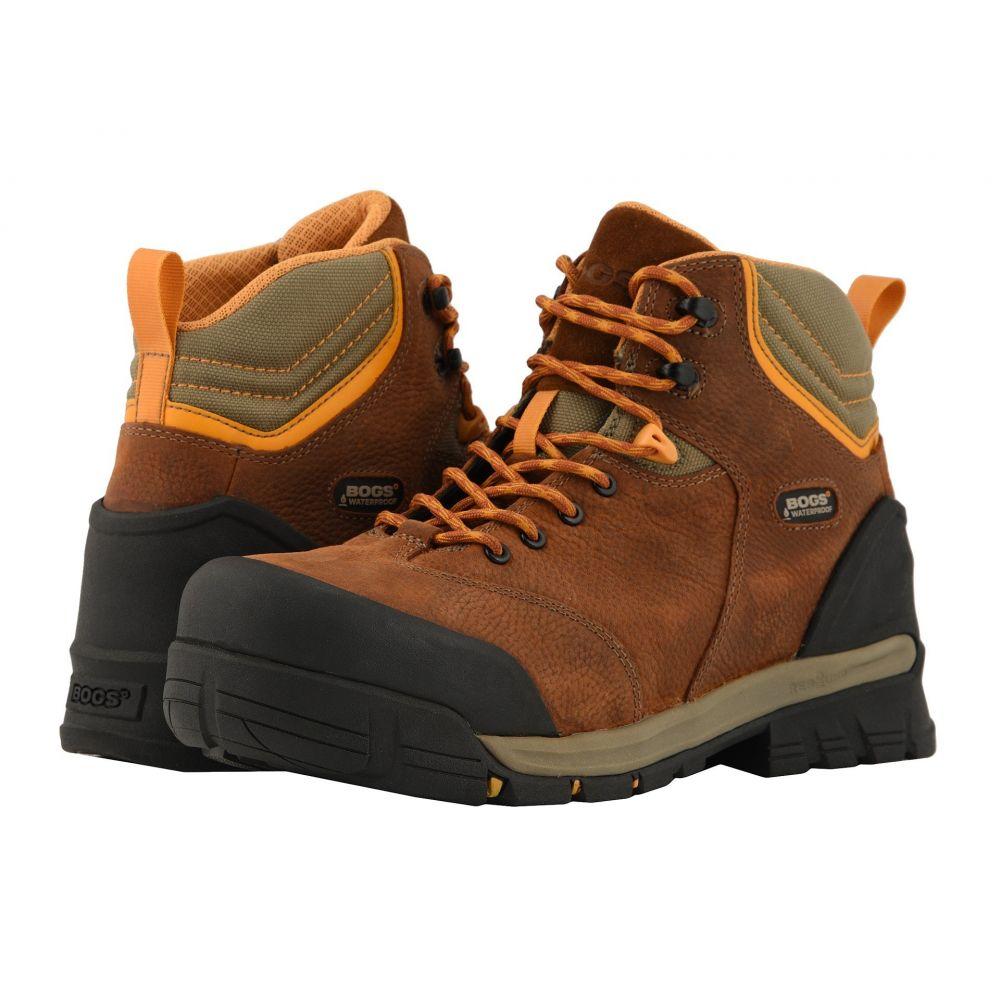 ボグス Bogs メンズ シューズ・靴 ブーツ【Bed Rock Mid Puncture Proof】Brown Multi