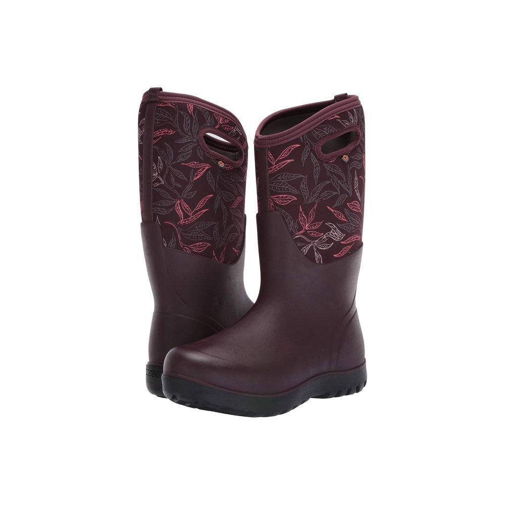 ボグス Bogs レディース シューズ・靴 ブーツ【Neo-Classic Tall Spring Leaf】Burgundy Multi