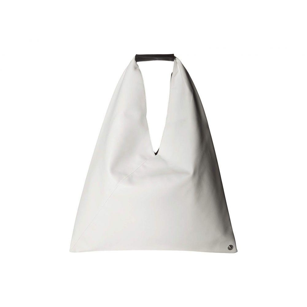 メゾン マルジェラ MM6 Maison Margiela レディース バッグ ハンドバッグ【Jersey Handbag】White