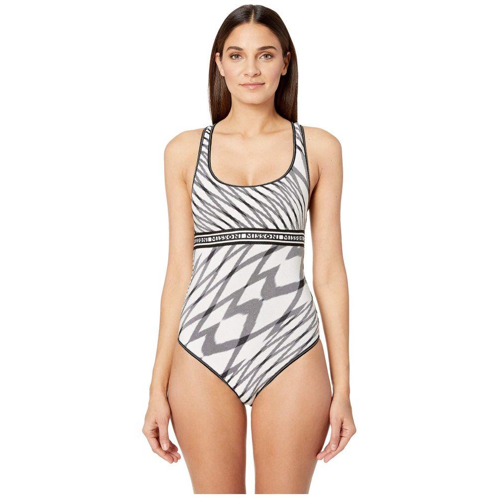 ミッソーニ Missoni Mare レディース 水着・ビーチウェア ワンピース【Fiammata One-Piece Swimsuit】Black/White