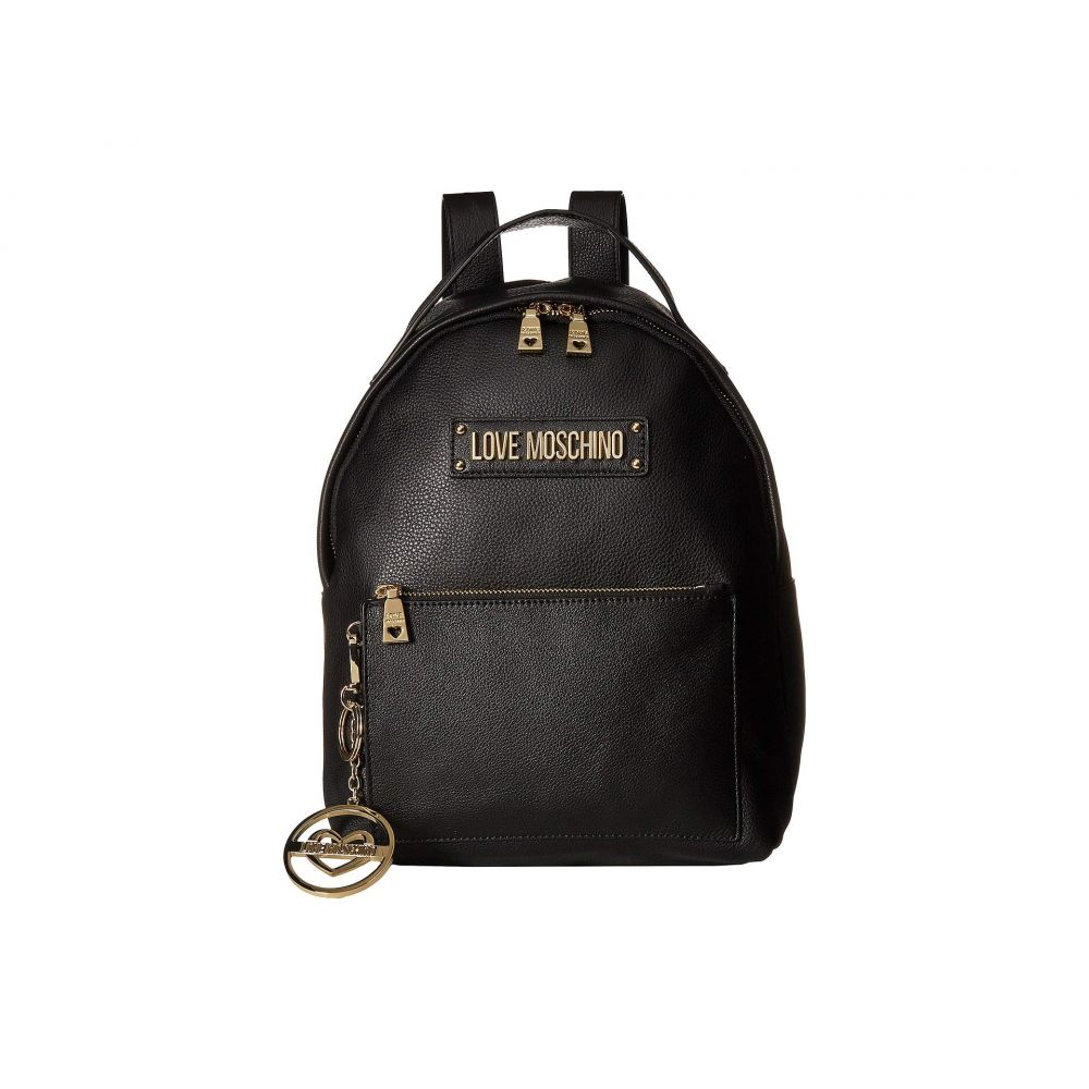 モスキーノ LOVE Moschino レディース バッグ バックパック・リュック【Classic Leather Backpack】Black
