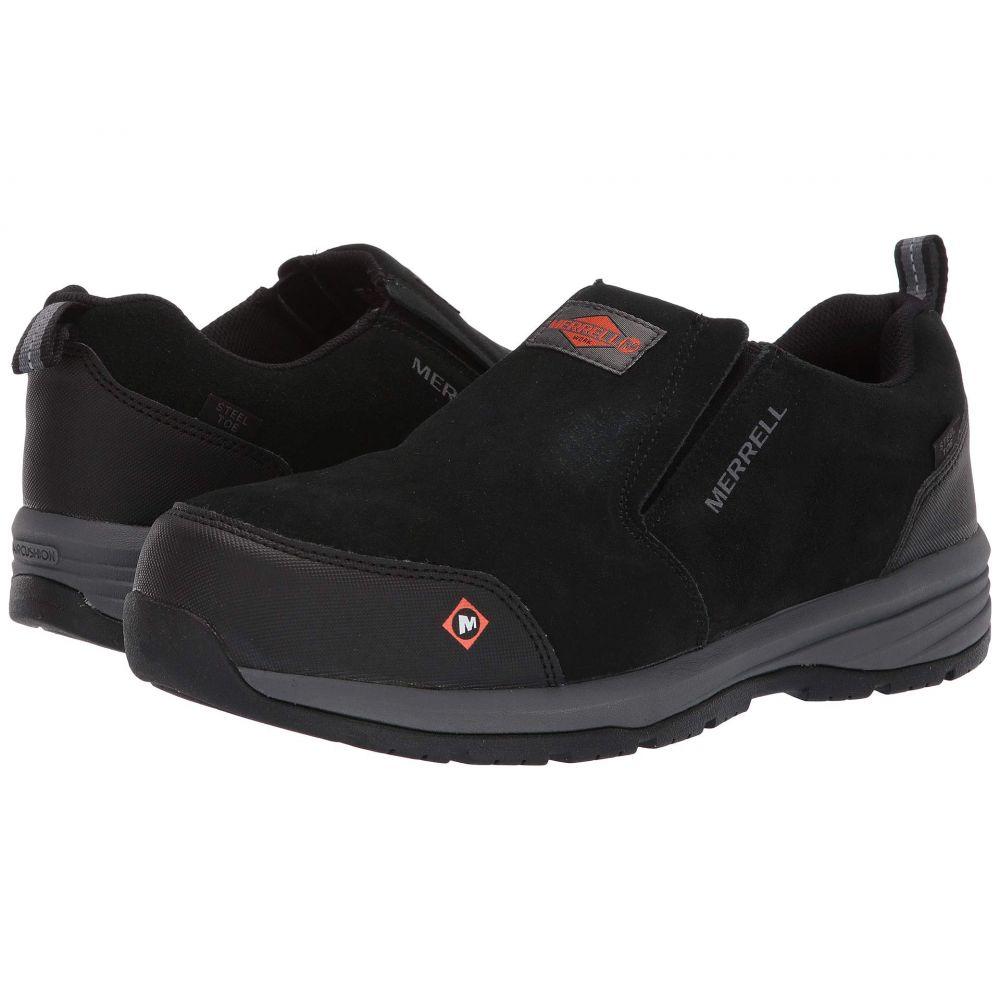 メレル Merrell Work メンズ シューズ・靴 スニーカー【Windoc Moc Steel Toe】Black