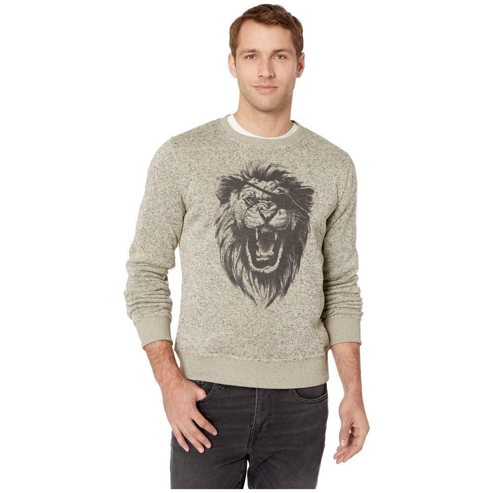 ラッキーブランド Lucky Brand メンズ トップス スウェット・トレーナー【Fleece Monster Crew Neck Sweatshirt】Cream
