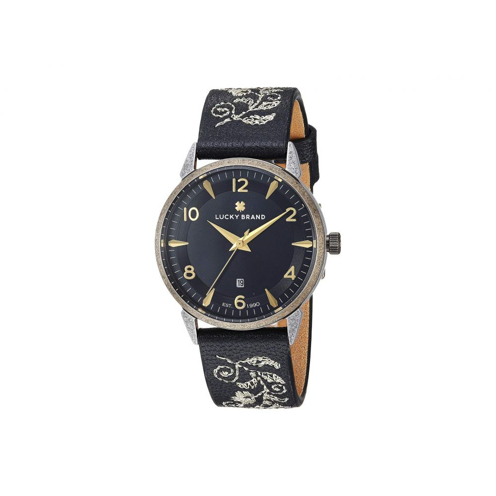 ラッキーブランド Lucky Brand レディース 腕時計【Torrey Embroidered Leather Watch - LW00183】Gold