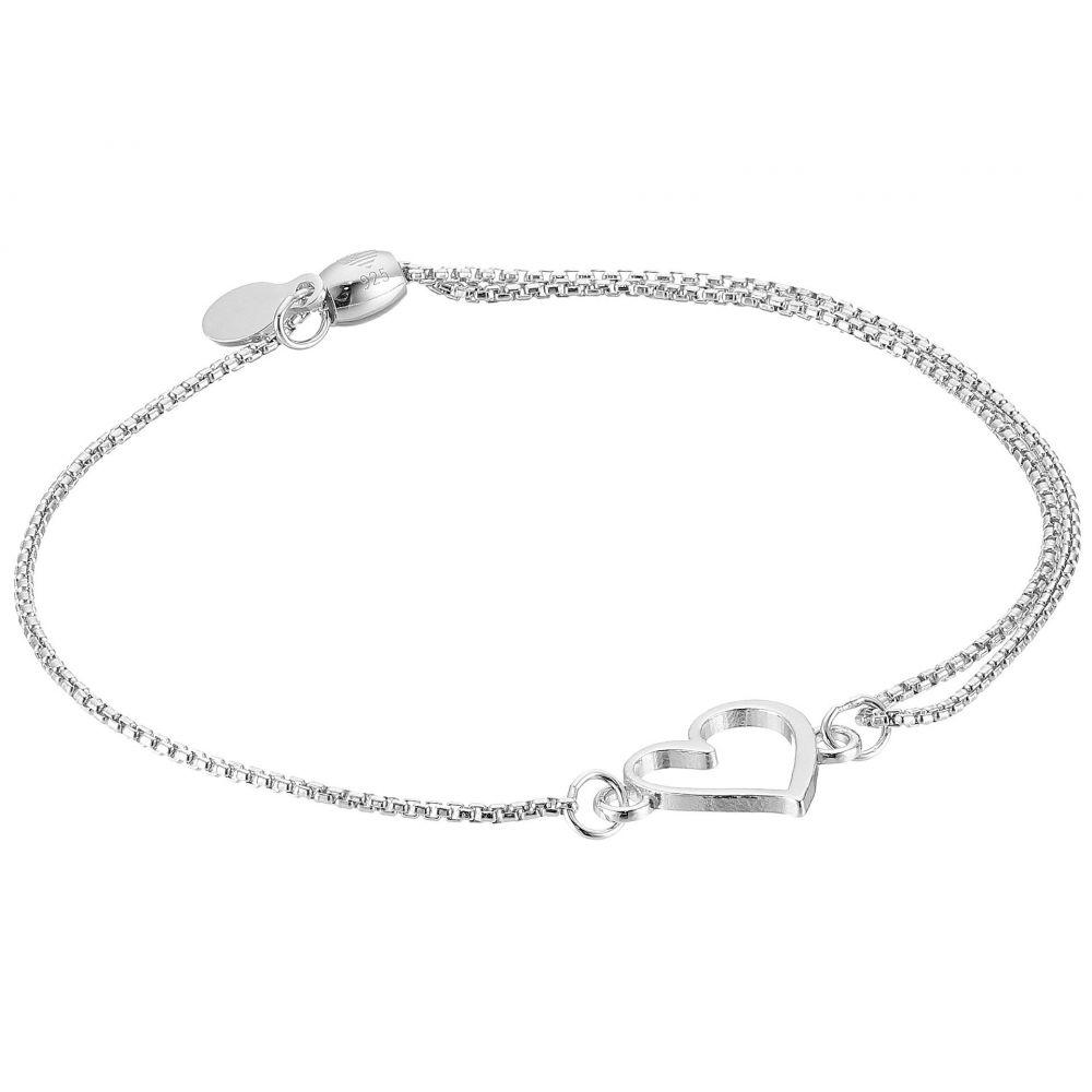 アレックス アンド アニ Alex and Ani レディース ジュエリー・アクセサリー ブレスレット【Heart Pull Chain Bracelet】Sterling Silver