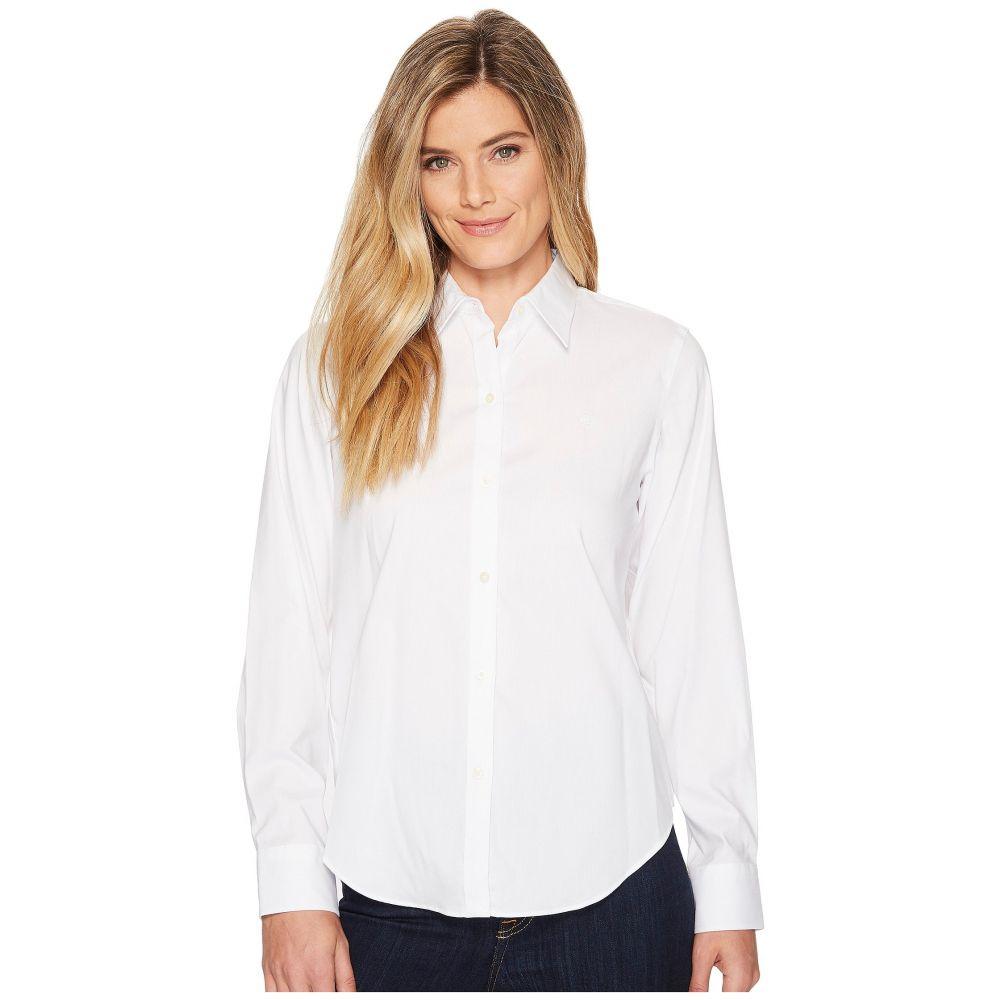 ラルフ ローレン LAUREN Ralph Lauren レディース トップス ブラウス・シャツ【Cotton Poplin Shirt】White