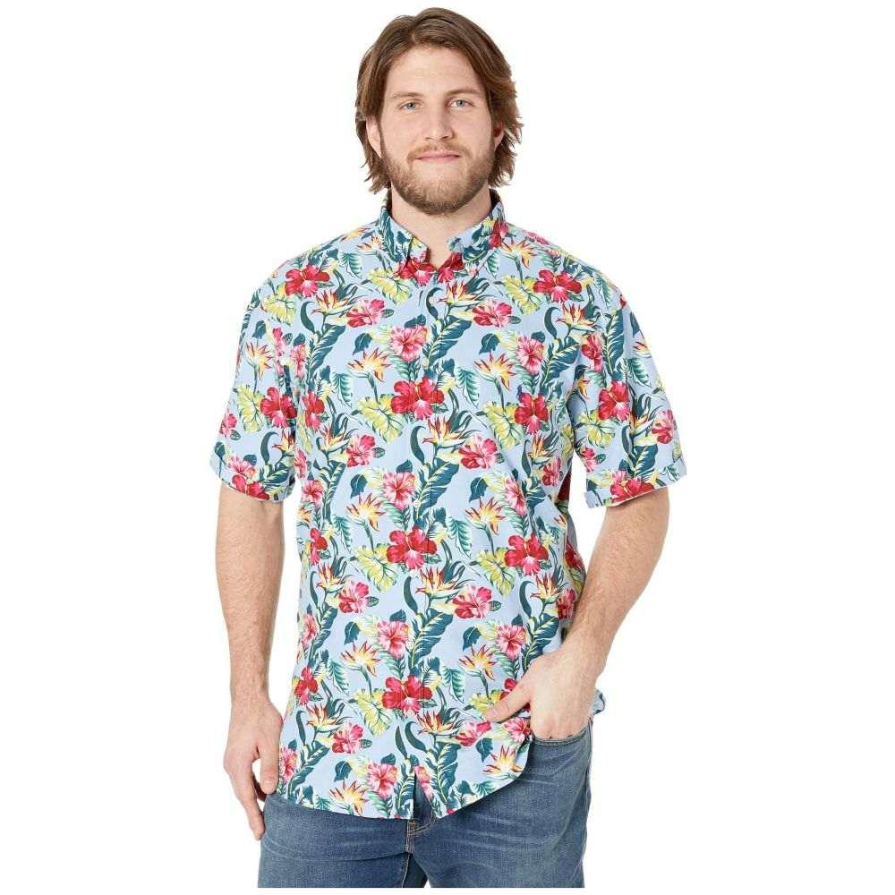 ラルフ ローレン Polo Ralph Lauren メンズ トップス 半袖シャツ【Big & Tall Printed Oxford Short Sleeve Classic Fit Sport Shirt】Paradise Floral