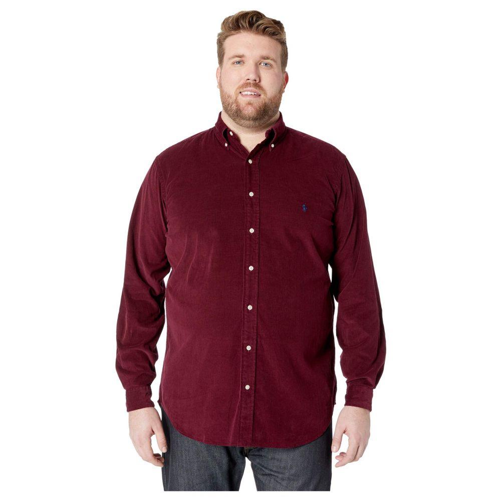 ラルフ ローレン Polo Ralph Lauren メンズ トップス【Big & Tall Corduroy Sportshirt】Classic Wine