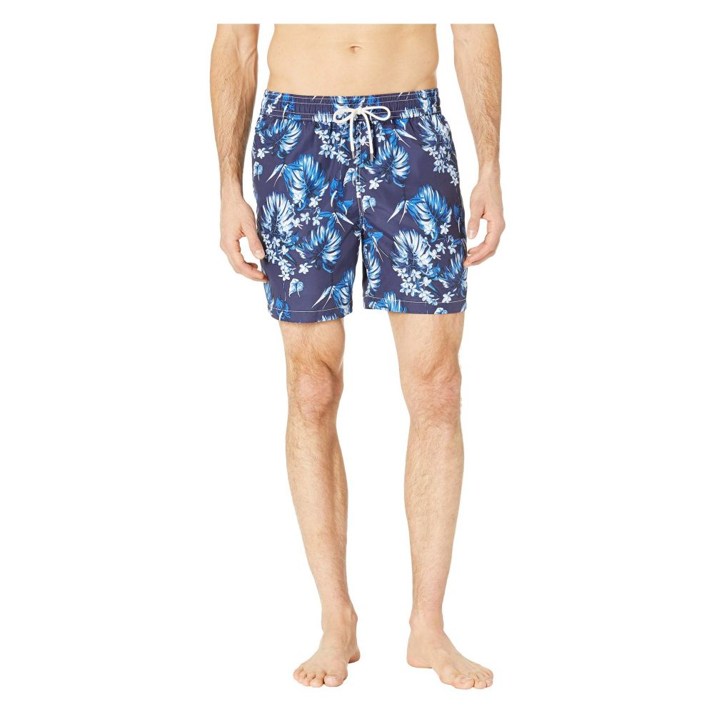 ラルフ ローレン Polo Ralph Lauren メンズ 水着・ビーチウェア 海パン【Midnight Floral Traveler Swim Trunks】Tonal Flower