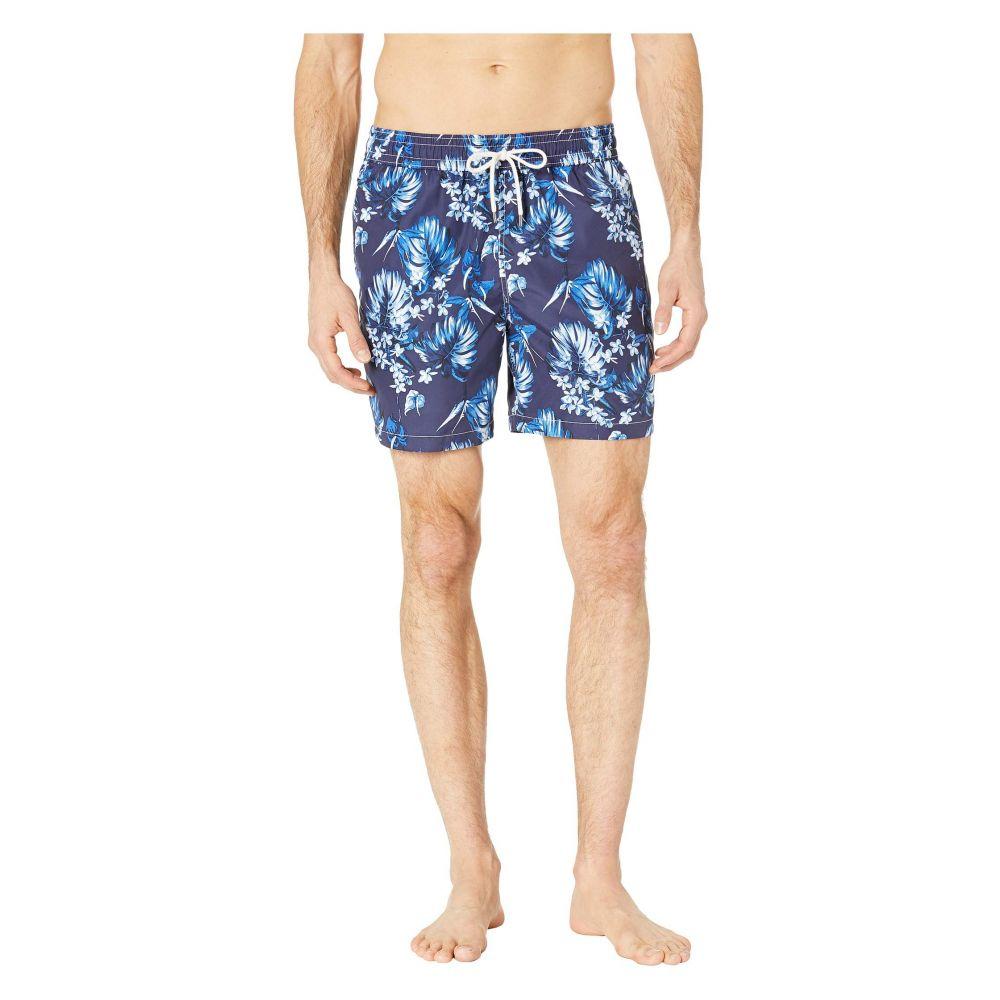 ラルフ ローレン Polo Ralph Lauren メンズ 水着・ビーチウェア 海パン【Midnight Floral Traveler Swim Trunks】Tonal Flower