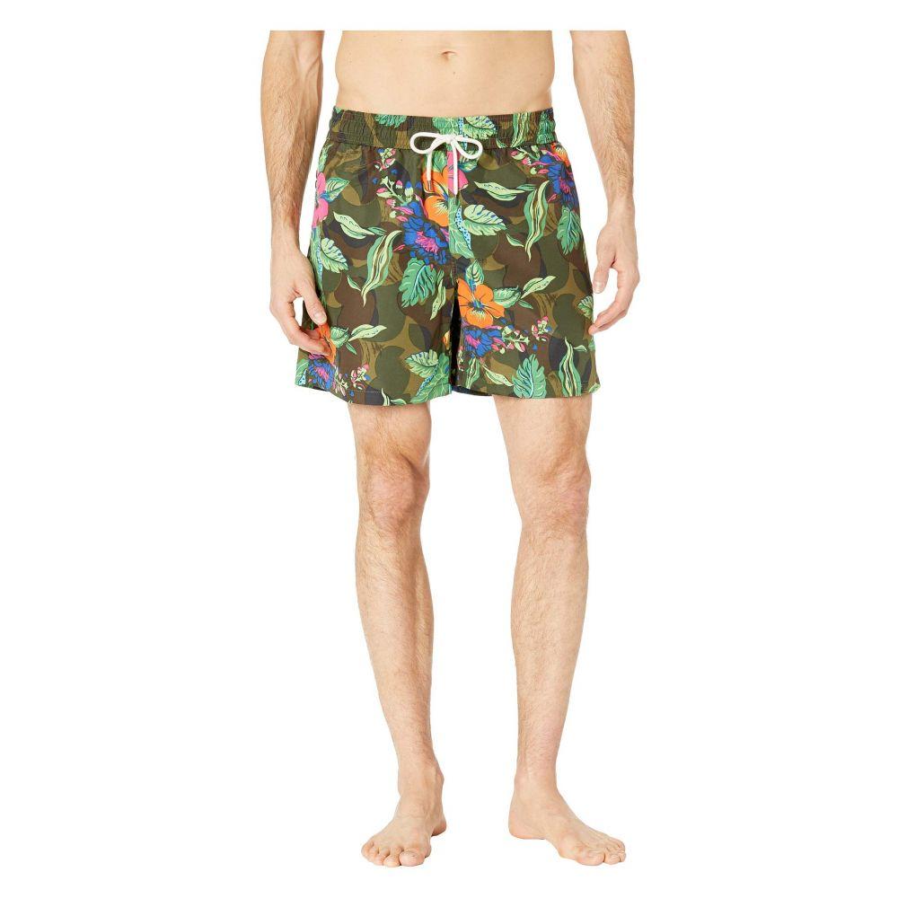 ラルフ ローレン Polo Ralph Lauren メンズ 水着・ビーチウェア 海パン【Tropical Camo Traveler Swim Trunks】Tropical/Camo