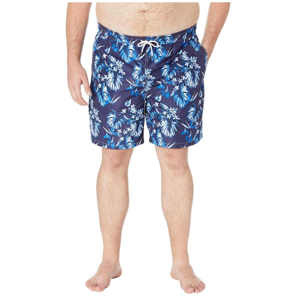 ラルフ ローレン Polo Ralph Lauren メンズ 水着・ビーチウェア 海パン【Big and Tall Polyester Traveler Swim Trunks】Tonal Floral