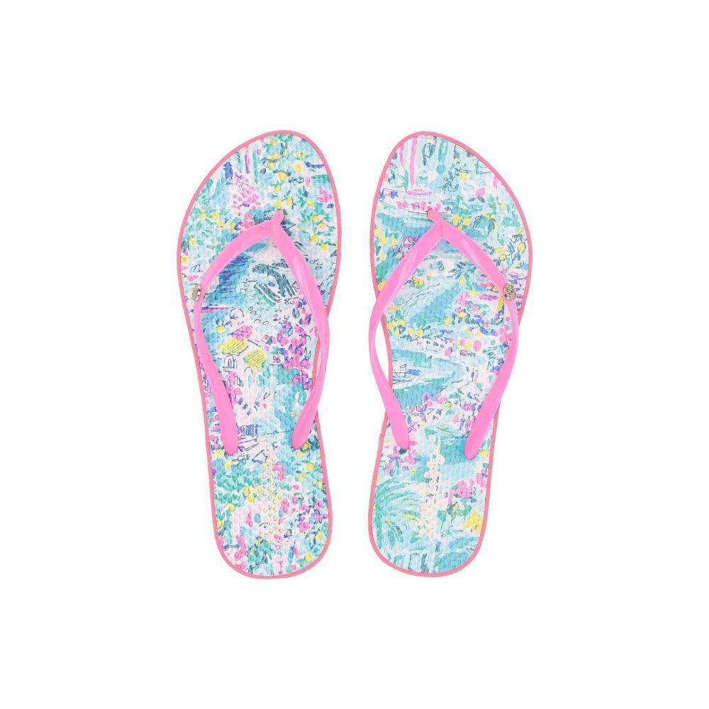 リリーピュリッツァー Lilly Pulitzer レディース シューズ・靴 ビーチサンダル【Pool Flip-Flop】Multi 1