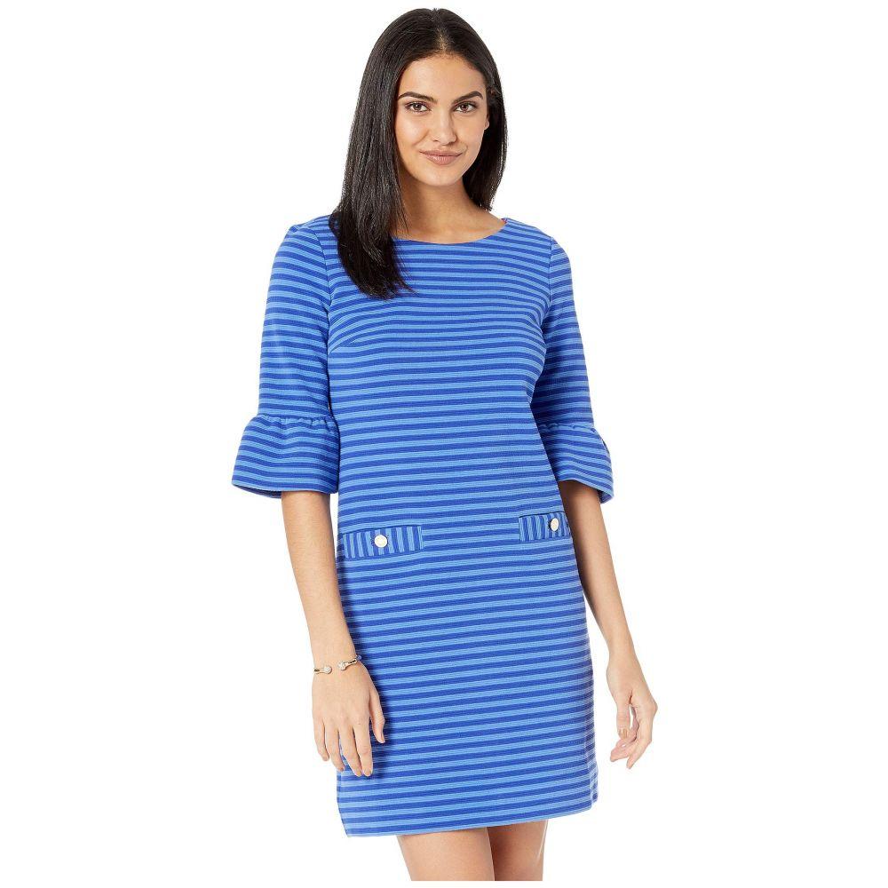 リリーピュリッツァー Lilly Pulitzer レディース ワンピース・ドレス ワンピース【Alden Dress】Blue Grotto Ottoman Stripe