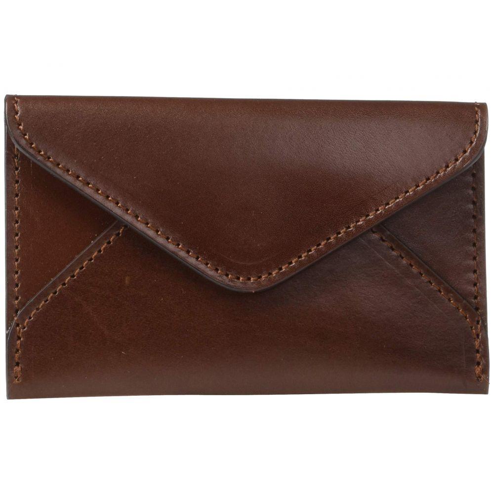 ルケーシー Lucchese レディース カードケース・名刺入れ【Flat Leather Business Card Case】Sienna