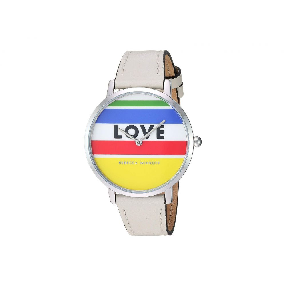 レベッカ ミンコフ Rebecca Minkoff レディース 腕時計【Major - 2200294】White