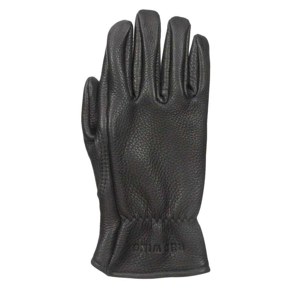 レッドウィング Red Wing Heritage メンズ 手袋・グローブ【Lined Gloves】Black Buckskin