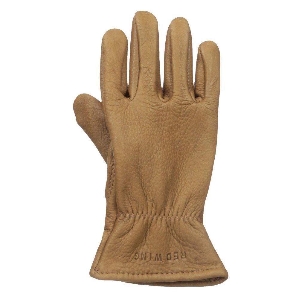 レッドウィング Red Wing Heritage メンズ 手袋・グローブ【Lined Gloves】Nutmeg Buckskin